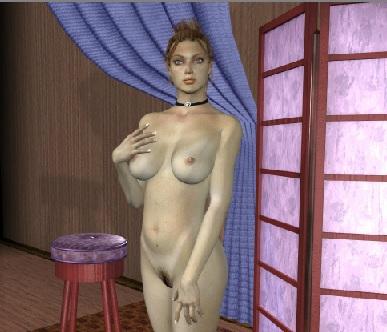 Стрип тетрис: сексуальная горничная
