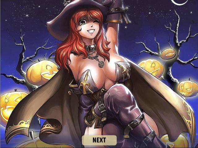 Эротический слайдер: Хэллоуинская вечеринка
